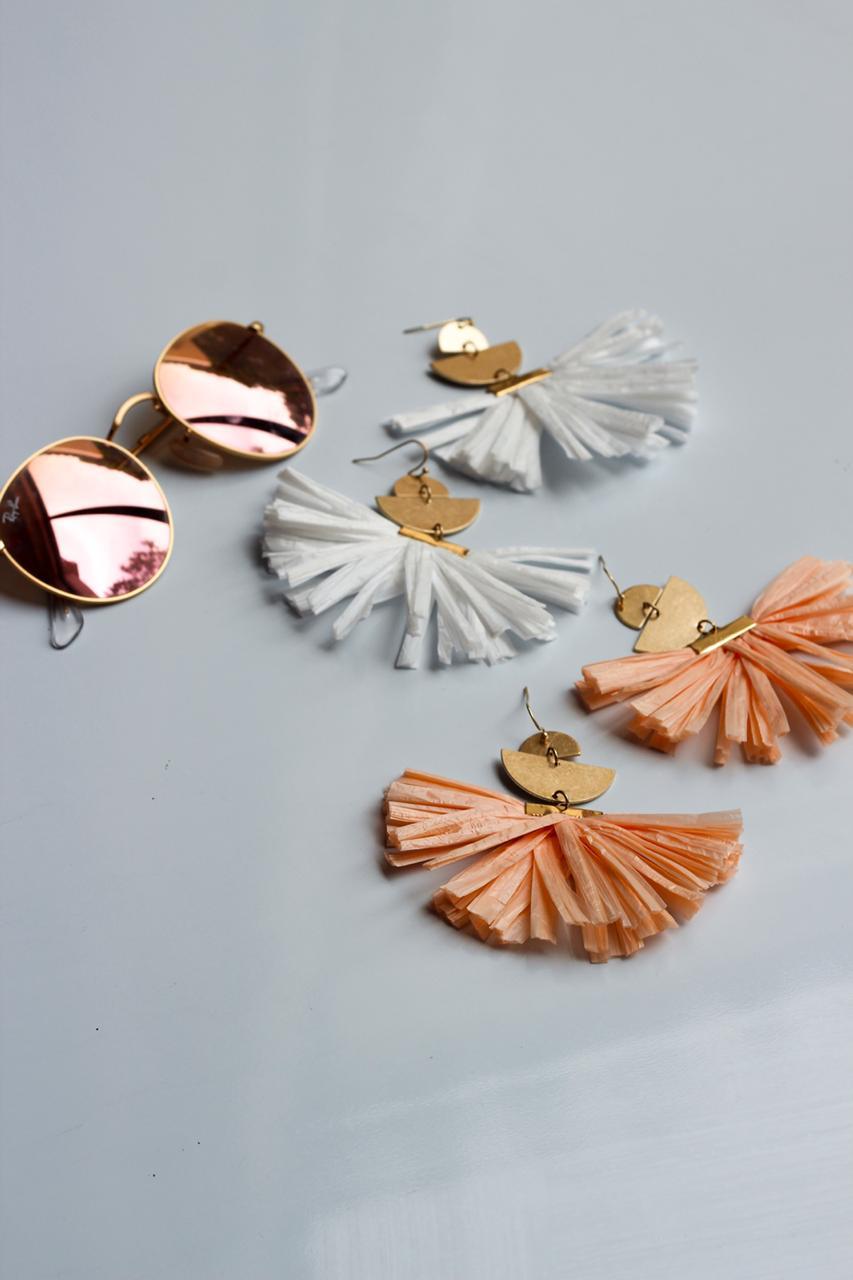 Acordion Earrings by Mereketé | Inspire Me Latin America
