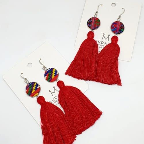 Huipilito Tassel Earrings by Mandarina by Dre | Inspire Me Latin America