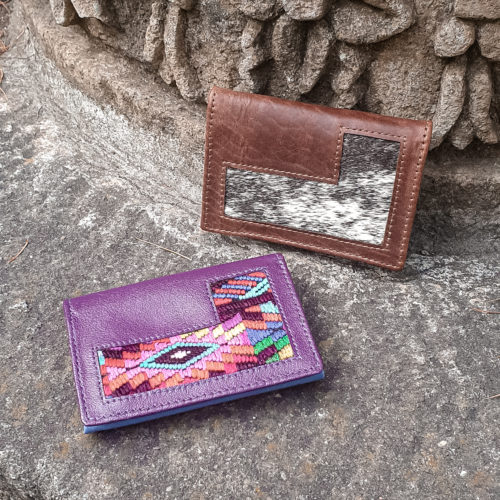 Coloibrí Card Holder by Poncho's Bags | Inspire Me Latin America