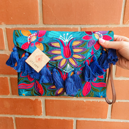 Embroidered Clutch by Utz Kem | Inspire Me Latin America