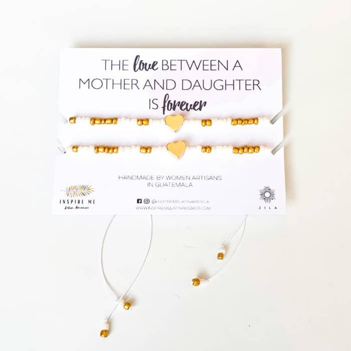 Miyuki Mother and Daughter Bracelet Set | Inspire Me Latin America