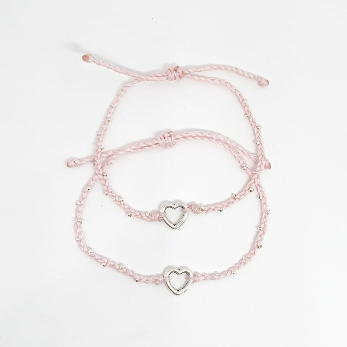 Pink Mother and Daughter Bracelet Set | Inspire Me Latin America