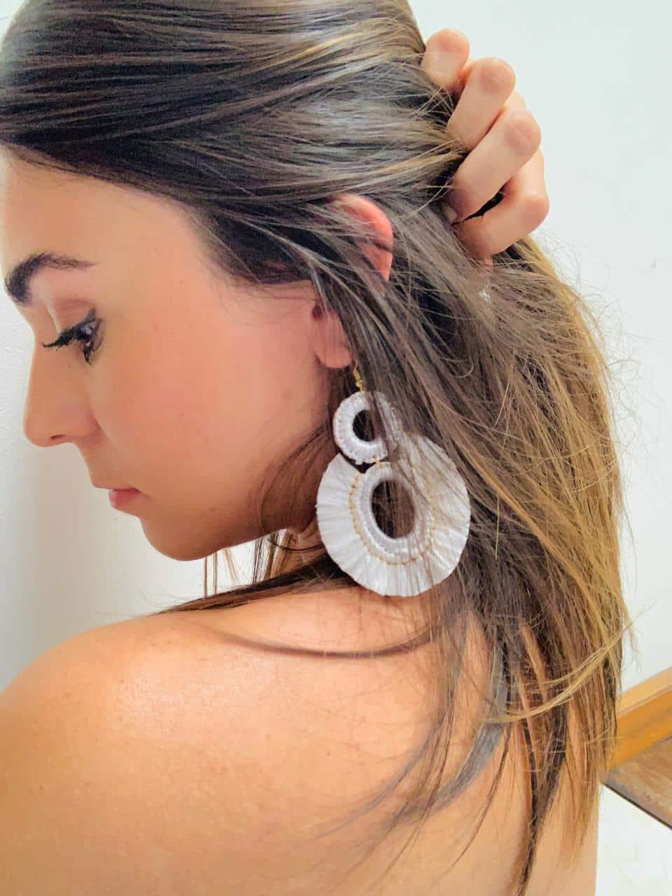 Raffia Palms Earrings by Mereketé   Inspire Me Latin America