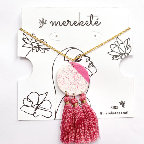 Triple Tassel Necklace by Mereketé | Inspire Me Latin America