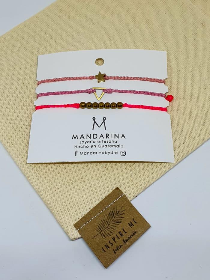 Simbolos Bracelet Set by Mandarina by Dre | Inspire Me Latin America