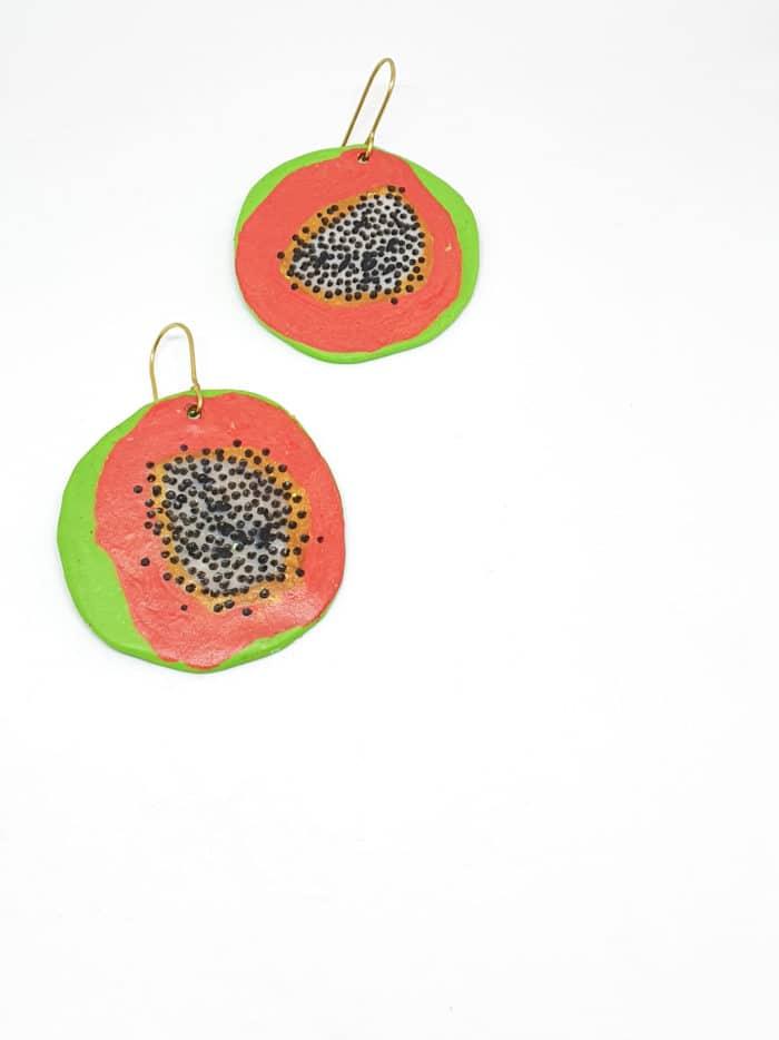 Pitaya Earrings by Mandarina by Dre | Inspire Me Latin America