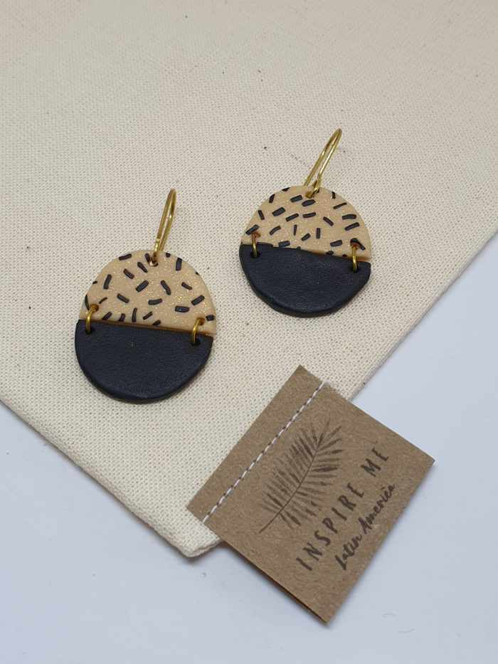 Picapica Negra Earrings by Mandarina by Dre   Inspire Me Latin America