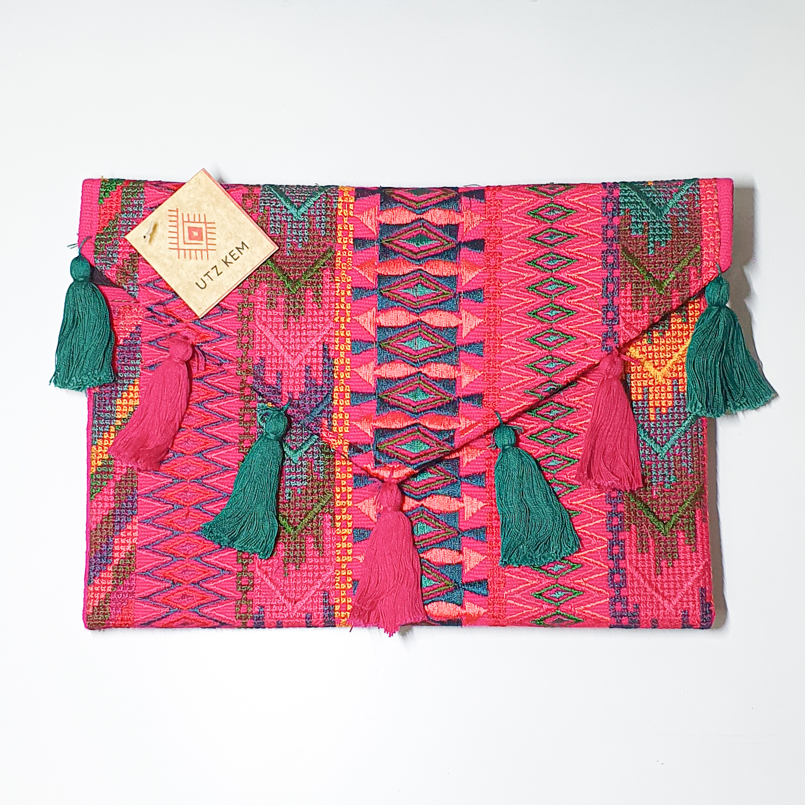 Embroidered Clutch by Utz Kem   Inspire Me Latin America