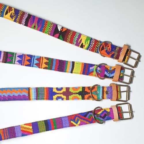 Textile Dog Collar by Utz Kem   Inspire Me Latin America
