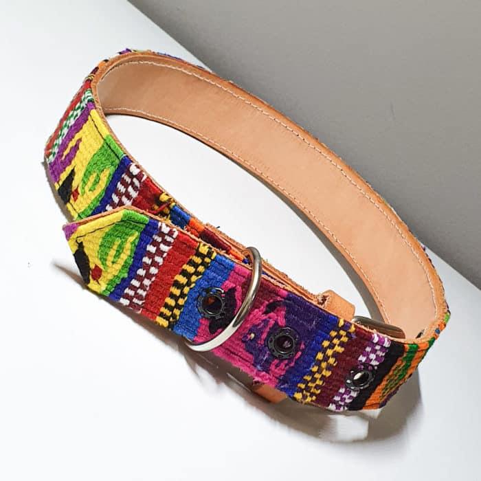 Textile Dog Collar by Utz Kem | Inspire Me Latin America