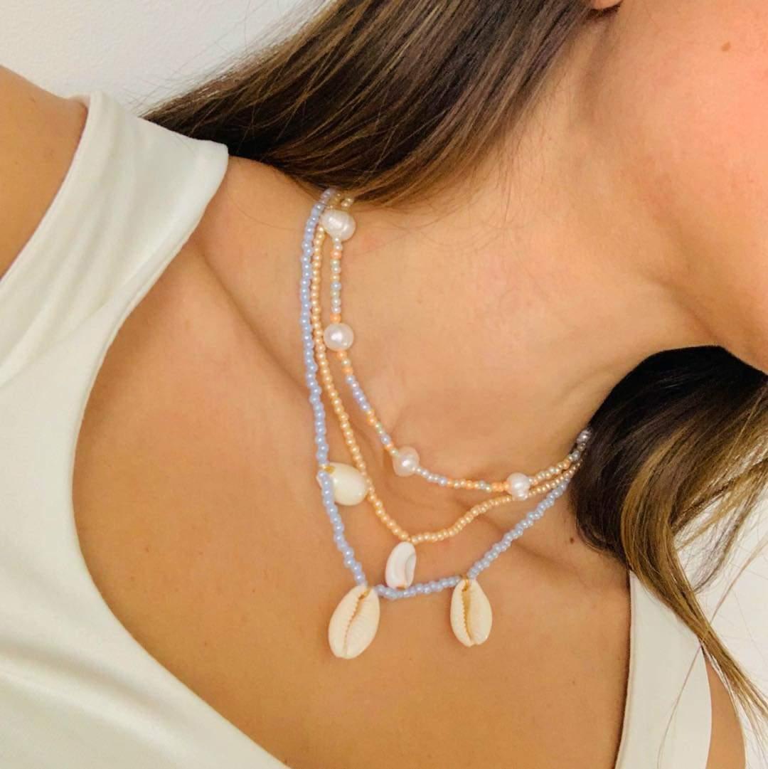 Pastel Beaded Necklaces by Mereketé | Inspire Me Latin America