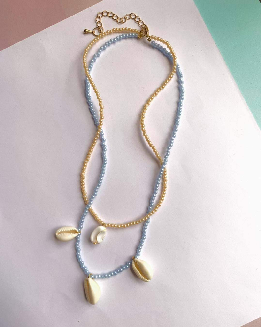 Pastel Pearls Necklaces by Mereketé | Inspire Me Latin America