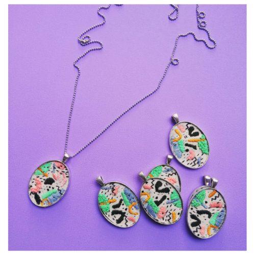 Hilos Geo Pendant Necklace by Mandarina by Dre | Inspire Me Latin America