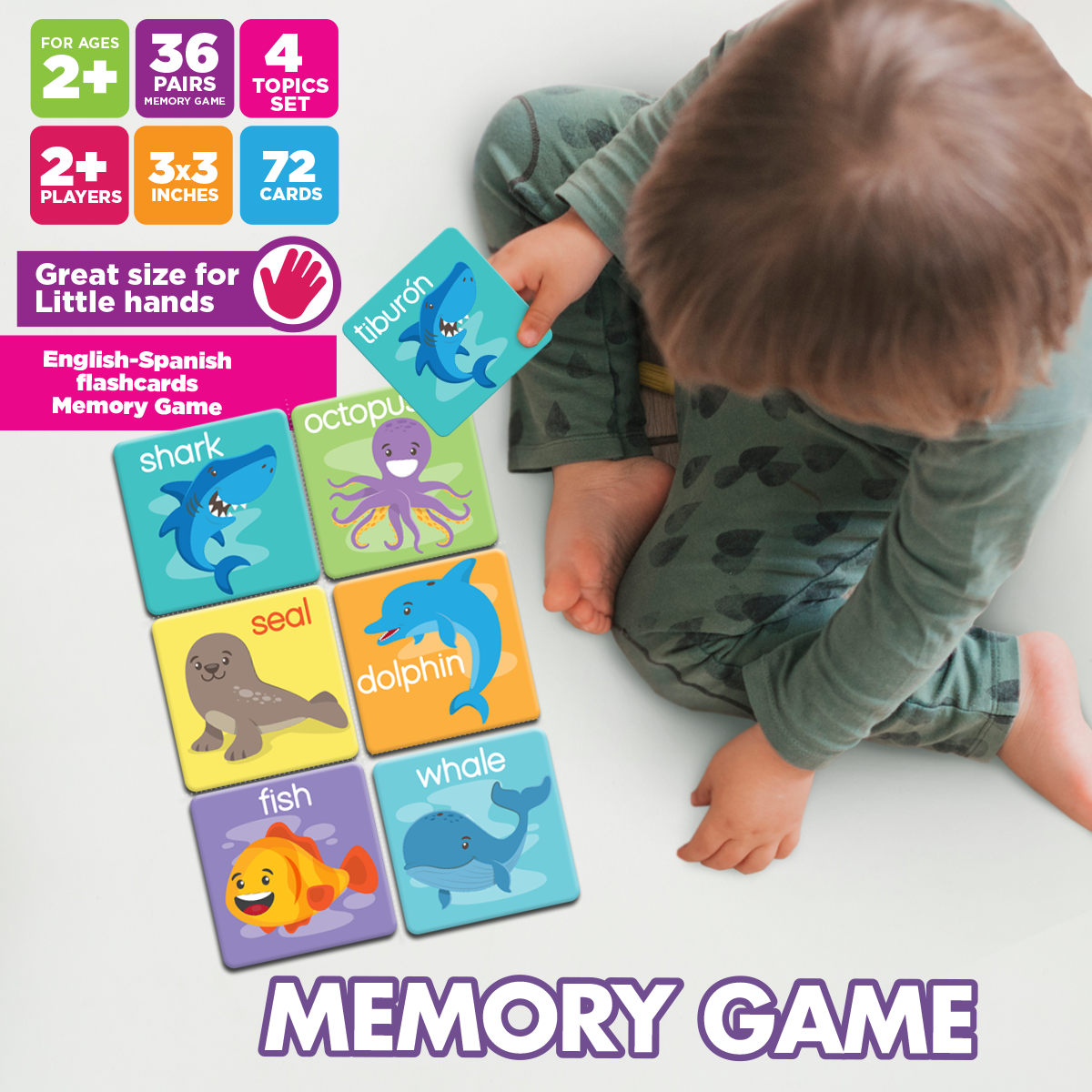 Memory Game by Oook! Learning Supplies | Inspire Me Latin America