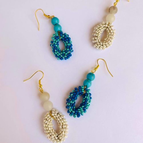Bossa Earrings by Mereketé | Inspire Me Latin America