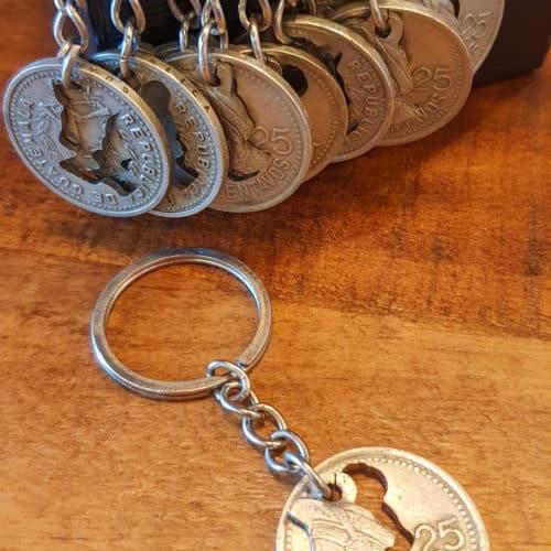25 Centavo Keychain by Waldo's Watch | Inspire Me Latin America