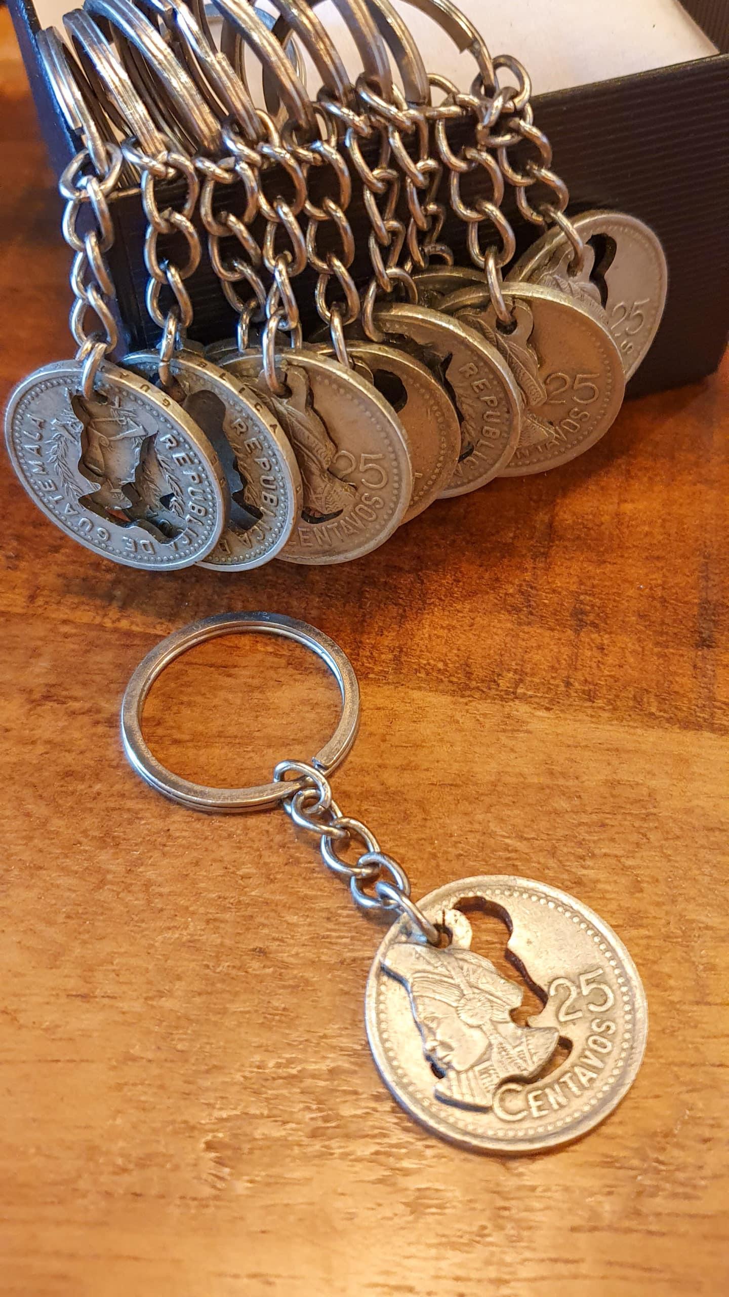 25 Centavo Keychain by Waldo's Watch   Inspire Me Latin America