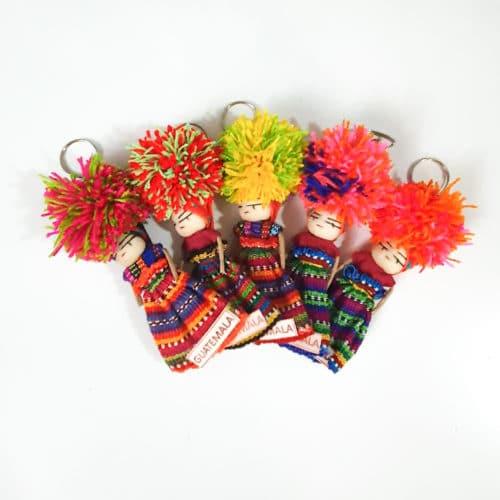 Worry Doll Keychain by Utz Kem | Inspire Me Latin America