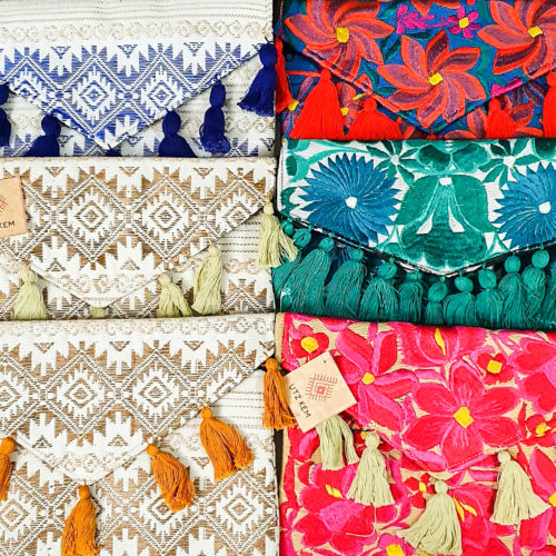 Embroidered Clutch from Utz Kem | Inspire Me Latin America