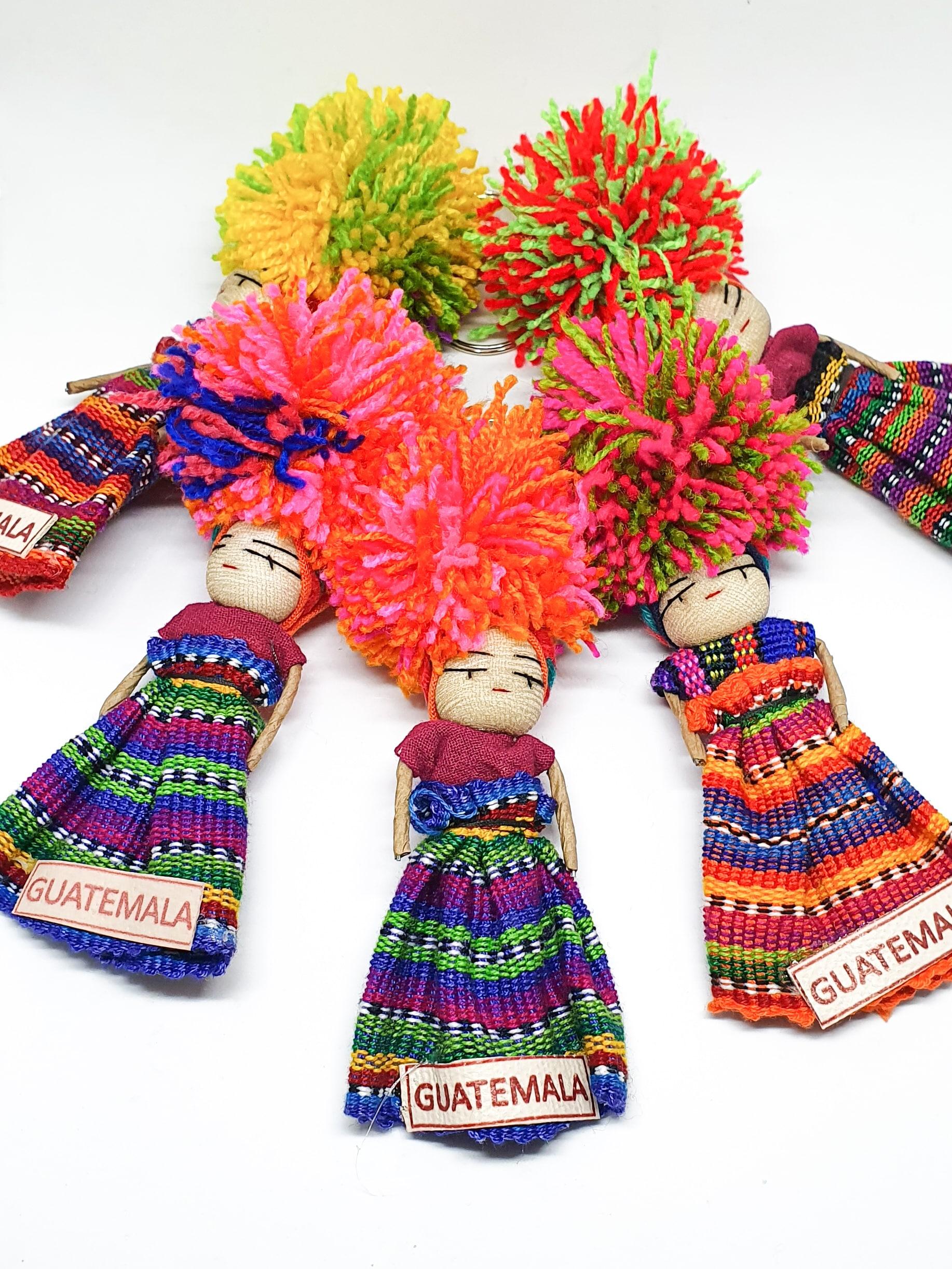 Worry Doll Keychain by Utz Kem   Inspire Me Latin America
