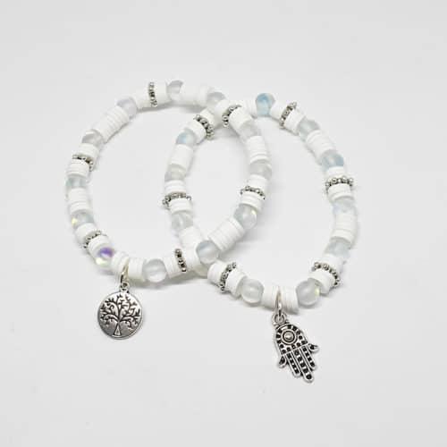Aquamarine Bracelets by Mereketé | Inspire Me Latin America