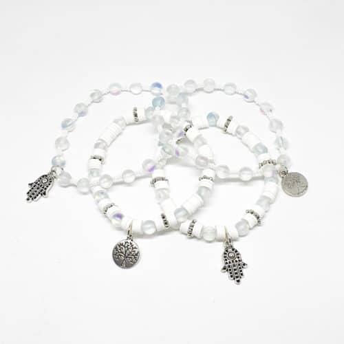 Aquamarine Energy Bracelets by Mereketé | Inspire Me Latin America