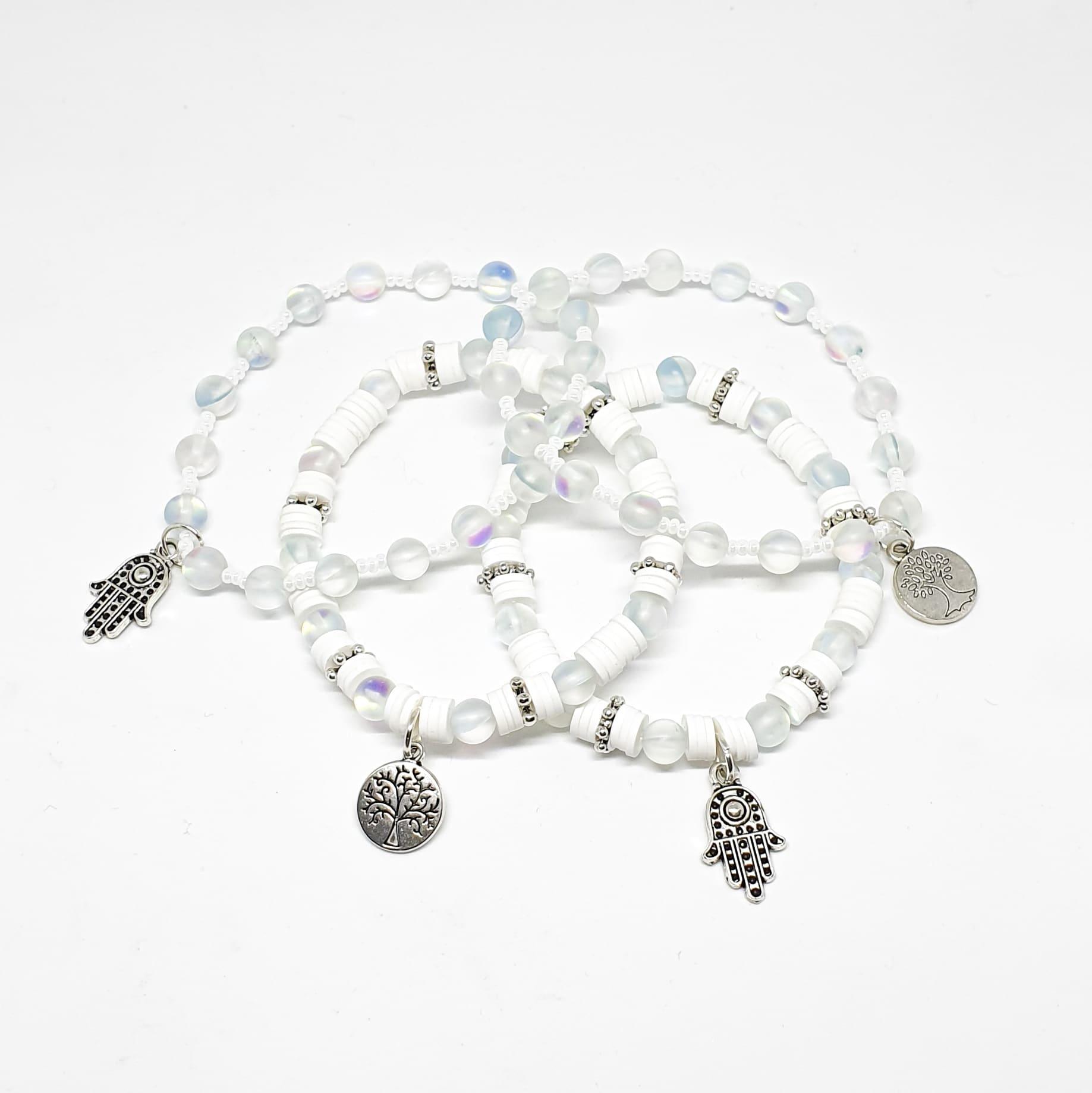 Aquamarine Energy Bracelets by Mereketé   Inspire Me Latin America