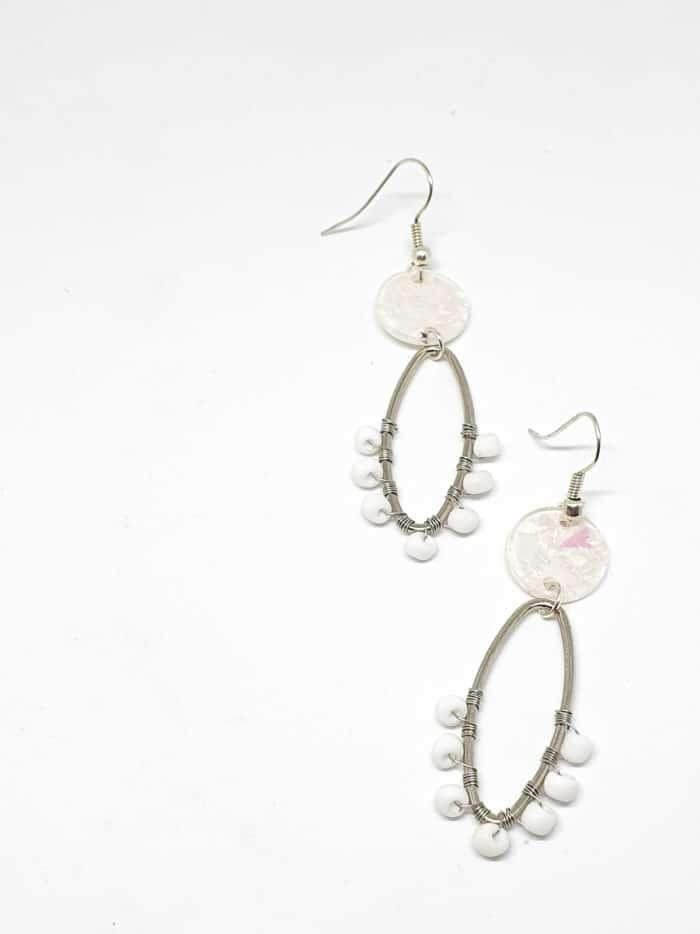 Alambrito Chipseado Earrings by Mereketé   Inspire Me Latin America