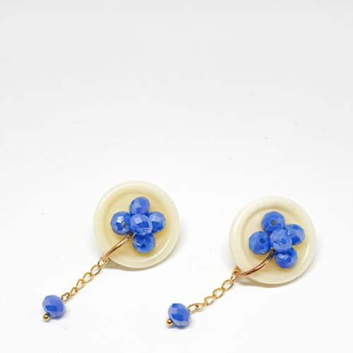 Botón Earrings by Mereketé | Inspire Me Latin America