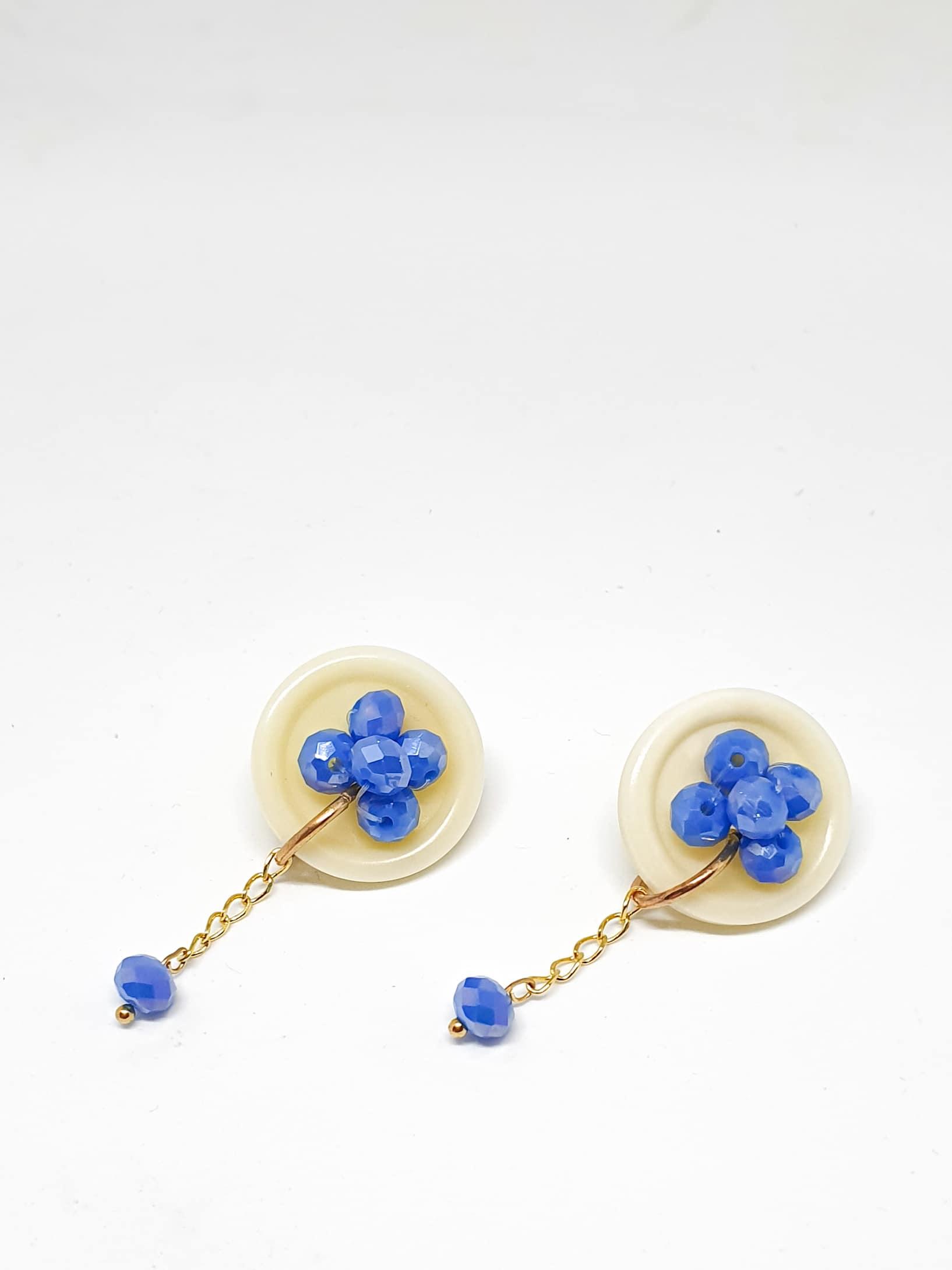 Botón Earrings by Mereketé   Inspire Me Latin America