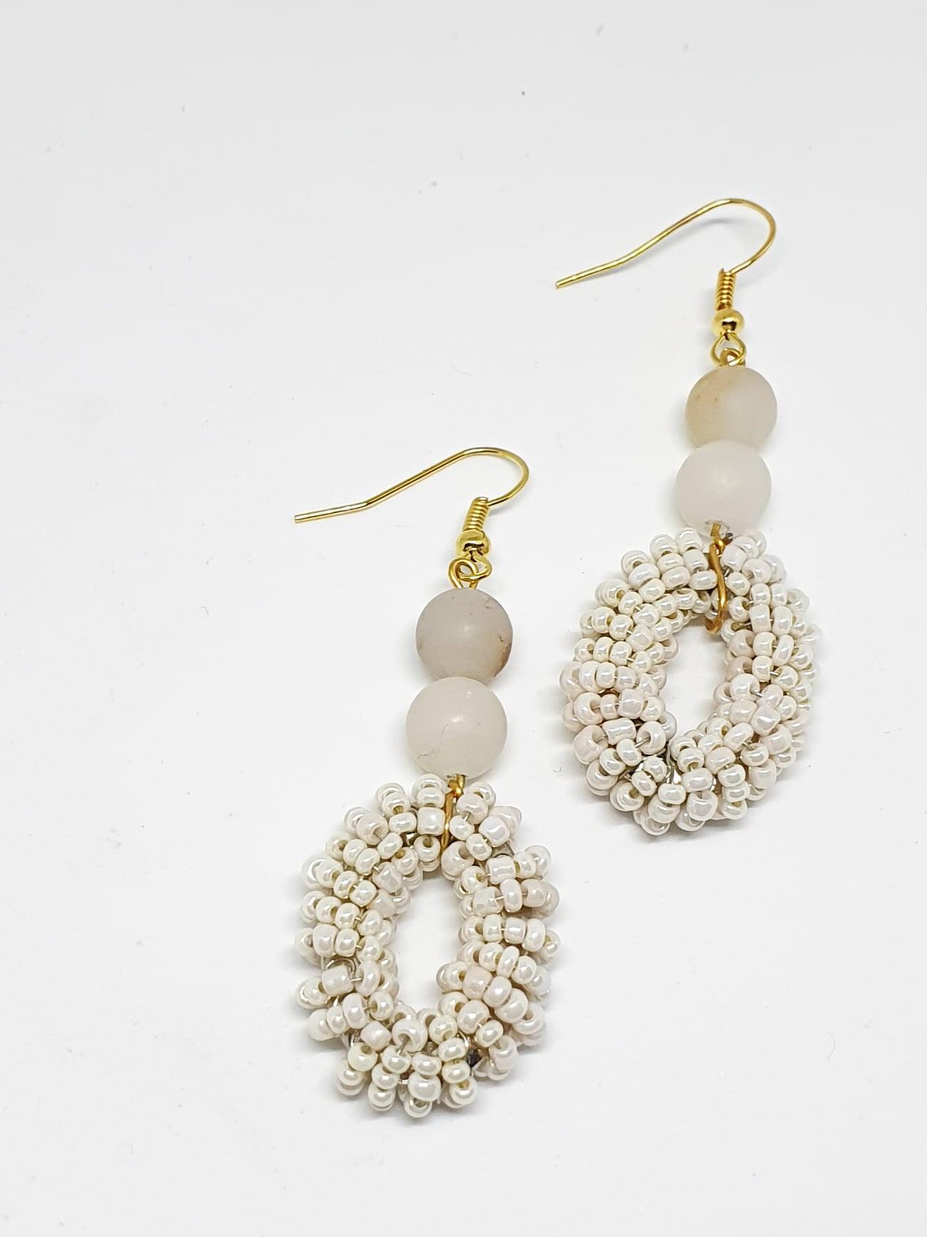 Bossa Earrings by Mereketé   Inspire Me Latin America