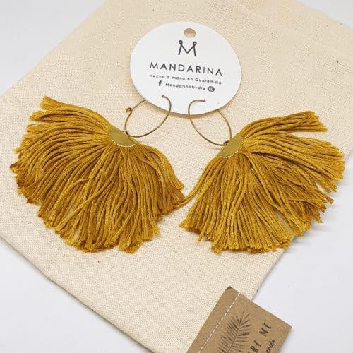 Pluma Earrings by Mandarina by Dre | Inspire Me Latin America