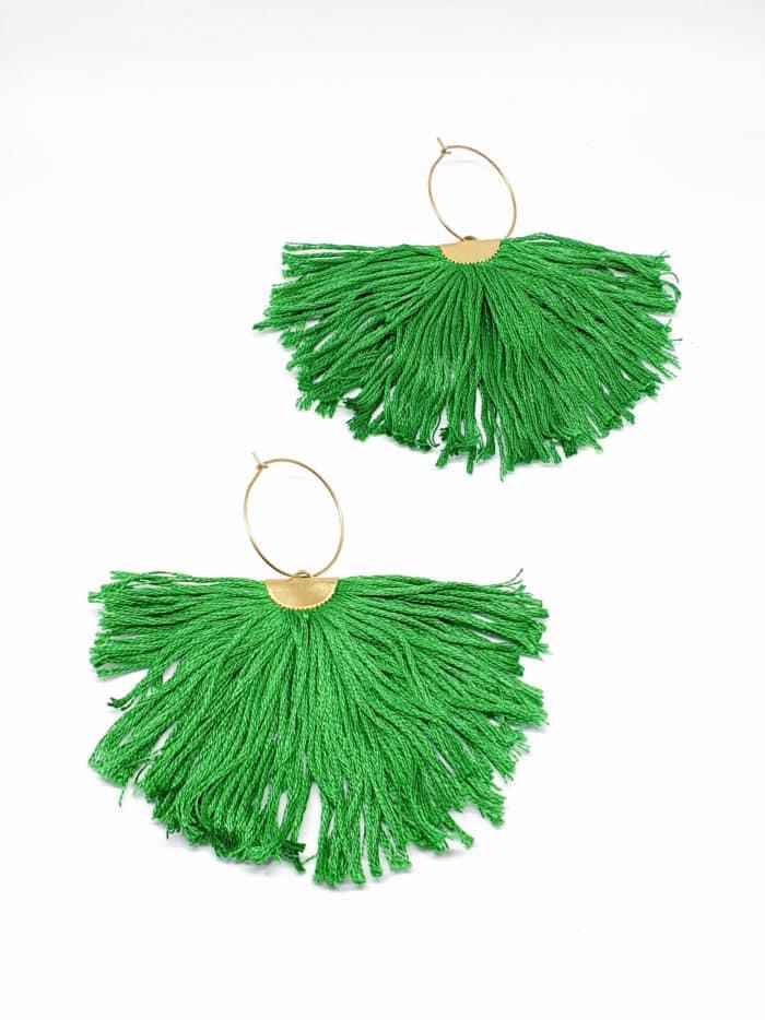 Pluma Earrings by Mandarina by Dre   Inspire Me Latin America