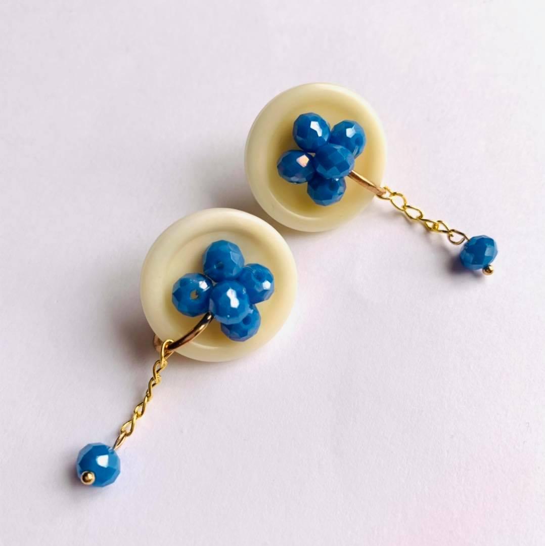 Boton Earrings by Mereketé   Inspire Me Latin America