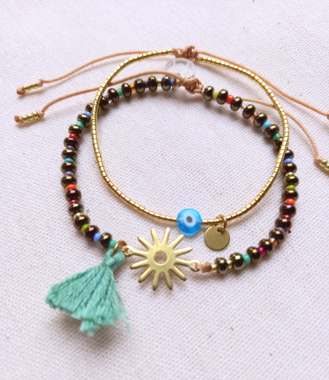 Sol Bracelet Set by Mandarina by Dre | Inspire Me Latin America