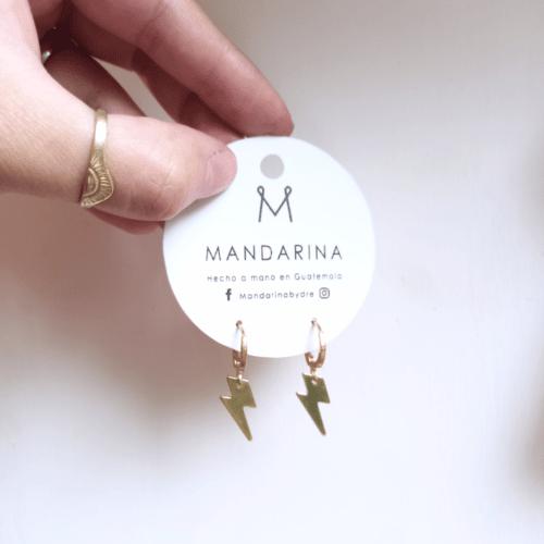 Fuerza Rayos Earrings by Mandarina by Dre | Inspire Me Latin America