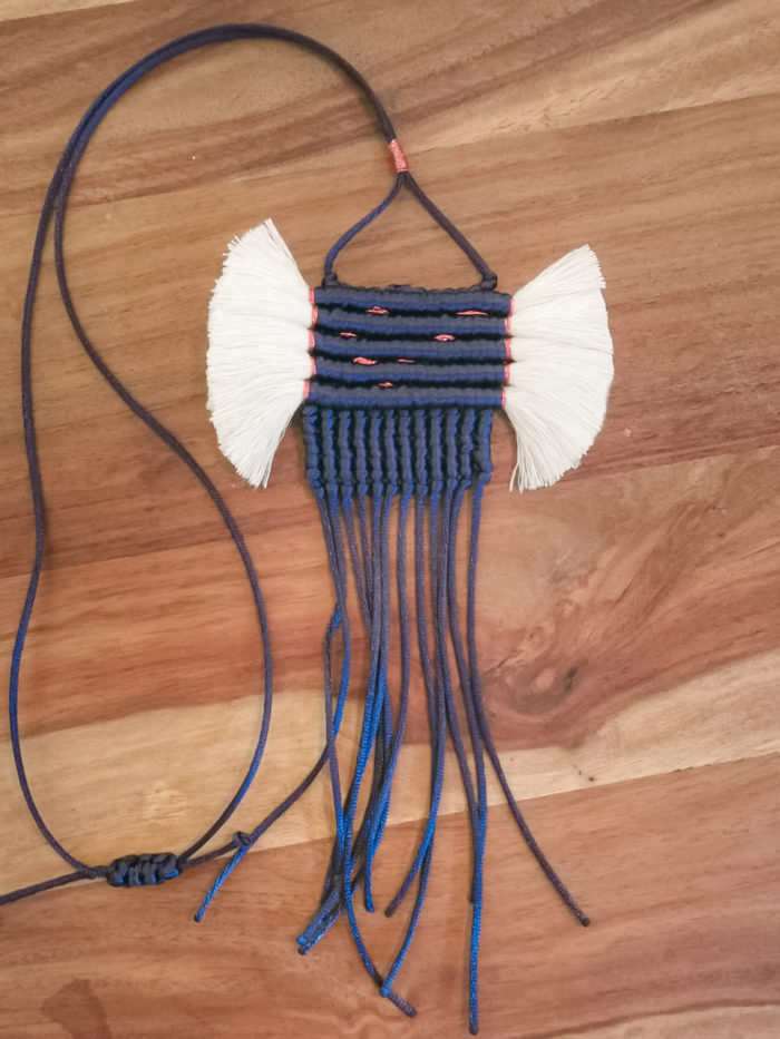 Mayan Macrame Necklace | Inspire Me Latin America