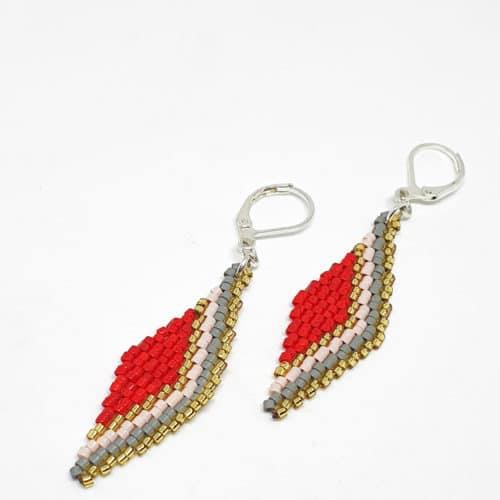Diamond Miyuki Earrings from Korotos | Inspire Me Latin America
