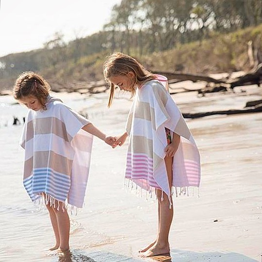 Kids Ponchos by Morena Collective | Inspire Me Latin America