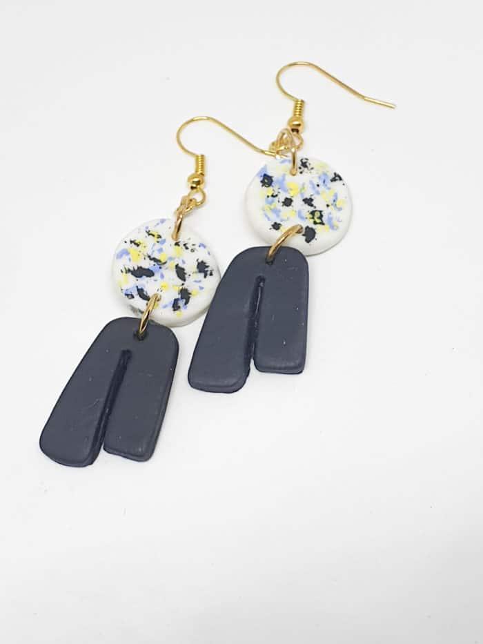 Polymer U-Blusher Earrings by Mereketé   Inspire Me Latin America
