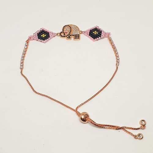 Elephant Miyuki Bracelet by Korotos | Inspire Me Latin America