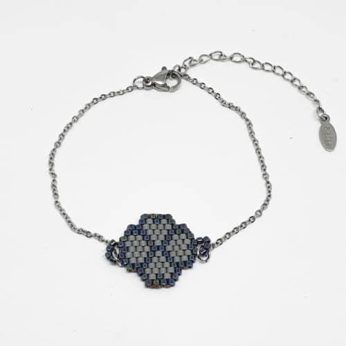Tea Ball Miyuki Bracelet by Korotos | Inspire Me Latin America